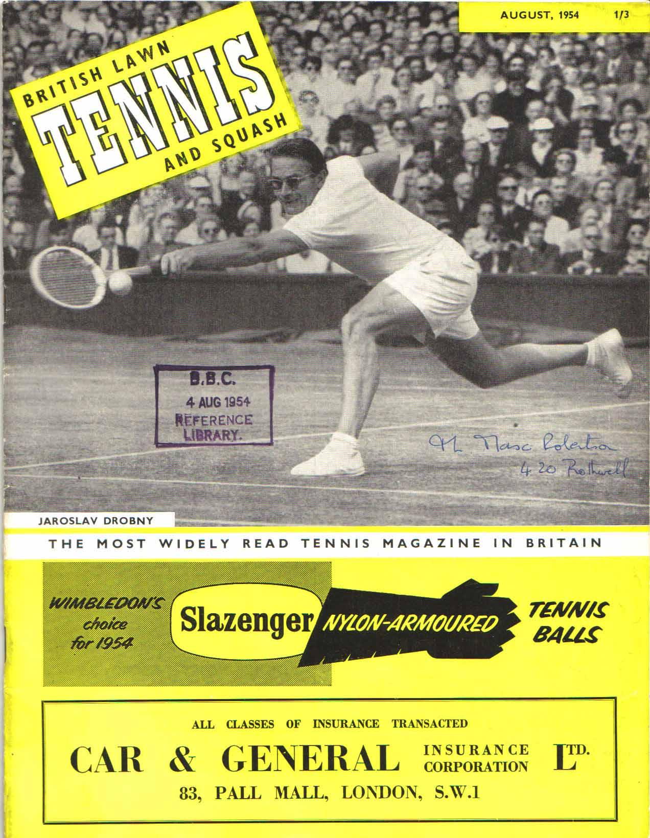 Jim s Tennis Books and Magazines